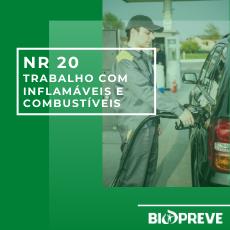 NR 20 – Segurança e Saúde no Trabalho com Inflamáveis e Combustíveis