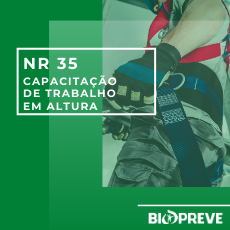 NR 35 – CAPACITAÇÃO DE TRABALHO EM ALTURA