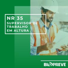 NR 35 – SUPERVISOR DE TRABALHO EM ALTURA