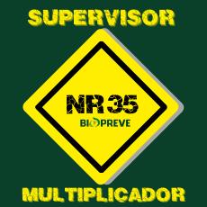 NR 35 – Supervisor Multiplicador de Trabalho em Altura